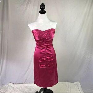 🌻 Cache pink cocktail dress